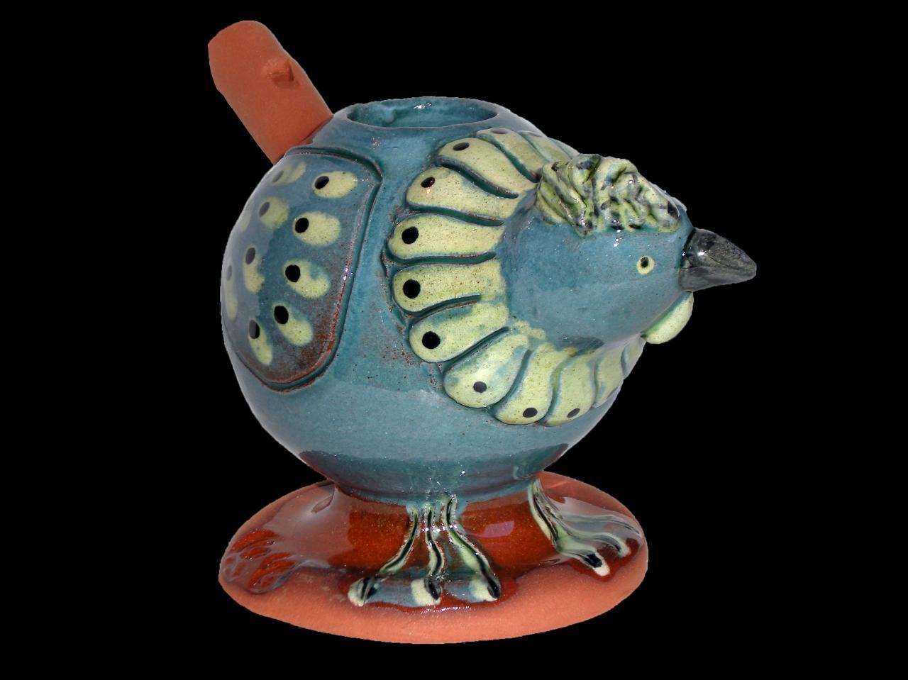 Poule Cobalt Cuivre